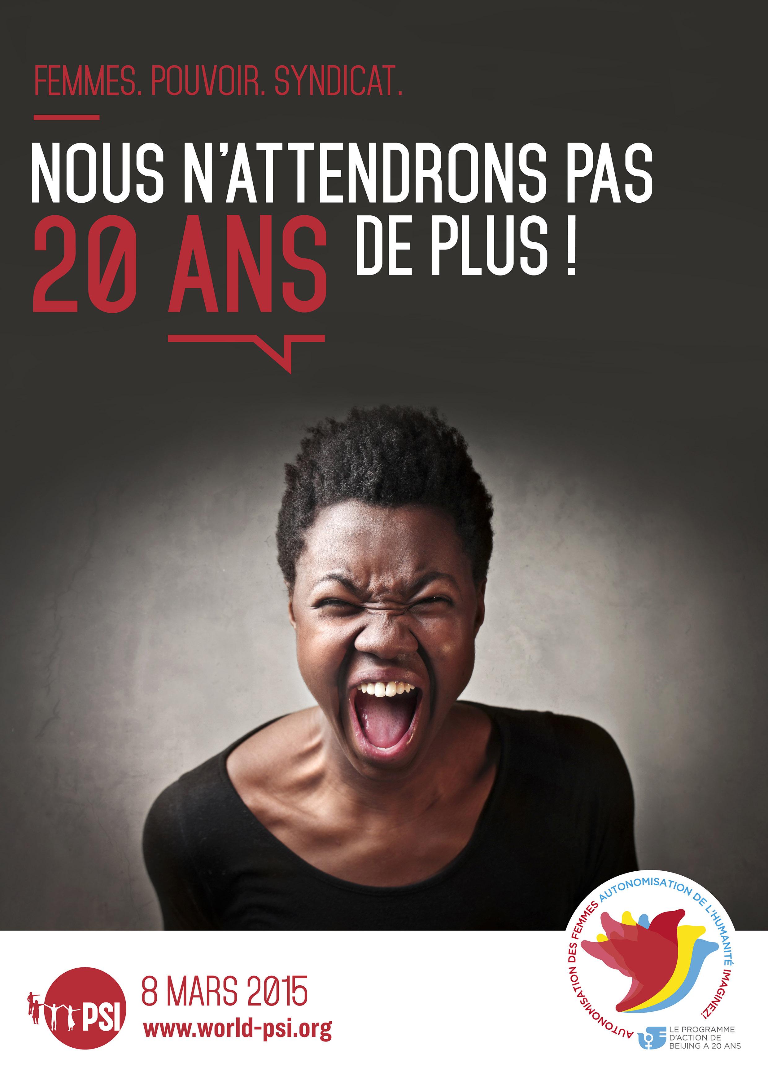 Génial Affiche Pour La Journée De La Femme journée internationale de la femme 2015 - affiches | psi