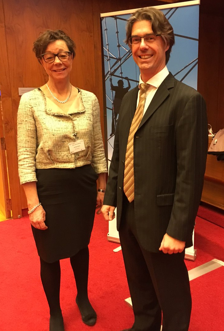 Annika Soder, Vice Minister for Foreign Affairs, Sweden discusses the benefits of the Global Deal with Daniel Bertossa, PSI Policy Director.