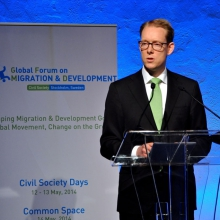 Tobias Billstrom, Minister for Asylum and Migration Policy, Sweden, GFMD Chair