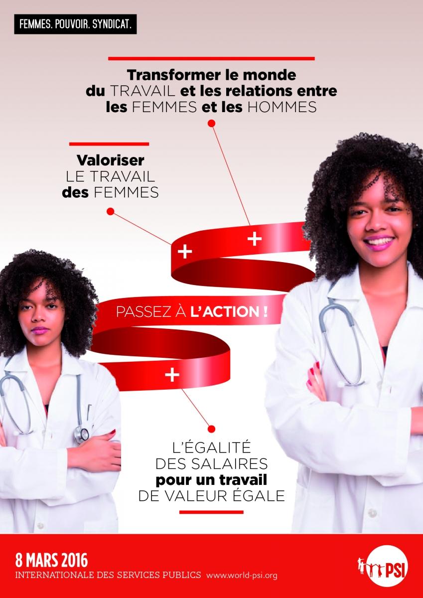 Affiche Pour La Journée De La Femme affiches pour la journée internationale de la femme 2016 | psi