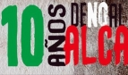 10 años de no al ALCA logo