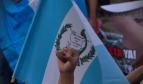 Marcha pacífica en contra de la corrupción estatal en Guatemala