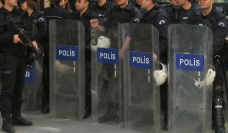 Image of riot police
