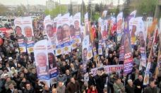 KESK rally outside Ankara criminal court - April 2012