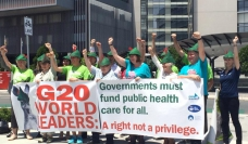 Nurses and midwives lobby for public funding of health care