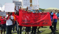 Manifestations contre la privatisation de l'énergie