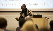 Bernard Adjei, Ghana Tax Justice Campaign - Photo David Falk