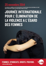 Génial Affiche Pour La Journée De La Femme affiche: la journée internationale pour l'élimination de la violence