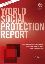 Front page of ILO World Social Protection report