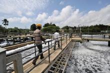 India - Sewage treatment plant, Kavoor, Mangalore, India. Photo: ADB
