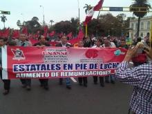 Trabajadores estatales retoman la huelga