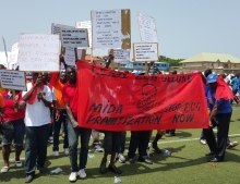 Demonstrations against energy privatisation