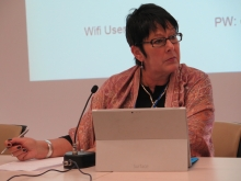Rosa Pavanelli, PSI General Secretary