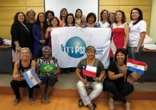 Las miembras del Comité de Mujeres del Cono Sur y Brasil