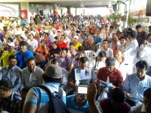 Jornada está siendo convocada por la Convención Nacional de organizaciones populares