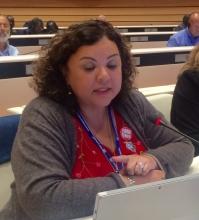 Junéia Batista, PSI WOC Chair