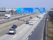 A German motorway
