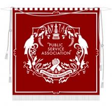 PSA centenary banner
