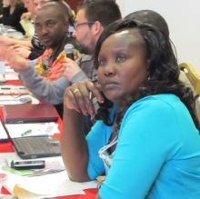 PSI participants from African affiliates