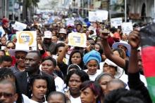 Anti-xenophobia march in Durban, 16 April