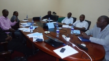 Trade union leaders from Kenya, Uganda, Tanzania and Zanzibar discuss energy policy and public sector restructuring in the East African Community