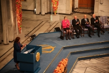 The Nobel ceremony - Photo: M.B. Haga, MFA