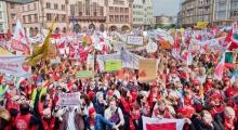 Strikers in Germany