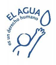 logotipo el agua es un derecho humano