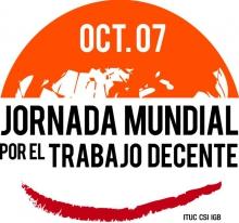 Jornada mundial por el trabajo decente