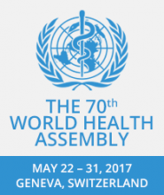 World Health Assembly logo