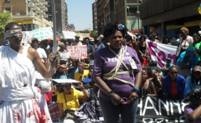 Johannesburg People's Pride March for Freedom and Justice
