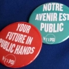 PSI Your Future in Public Hands badges