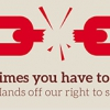 Right to strike logo