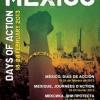 Afiche para los días de acción en México