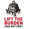 Photo lift the burden - Jobs not debt