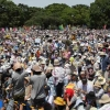 Huge anti-nuclear demonstration in Japan