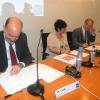 Rosa Pavanelli Secrétaire générale de PSI signe l'accord