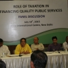 The role of taxation in funding quality public services