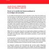 Invitation à la réunion anti-corruption