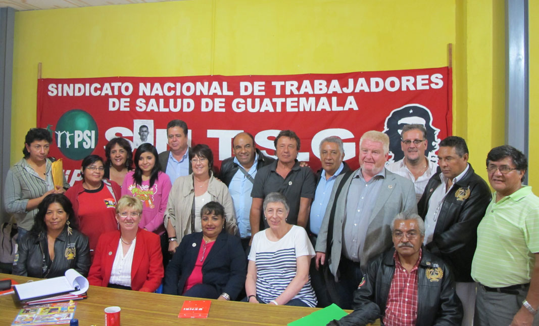 Members of PSI delegation to Guatemala