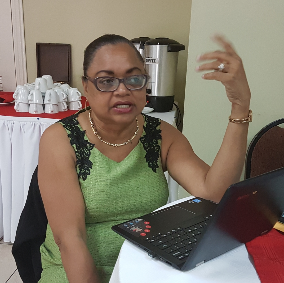 Helene Davis-Whyte explains the role of unions in Jamaica in dealing with climate change