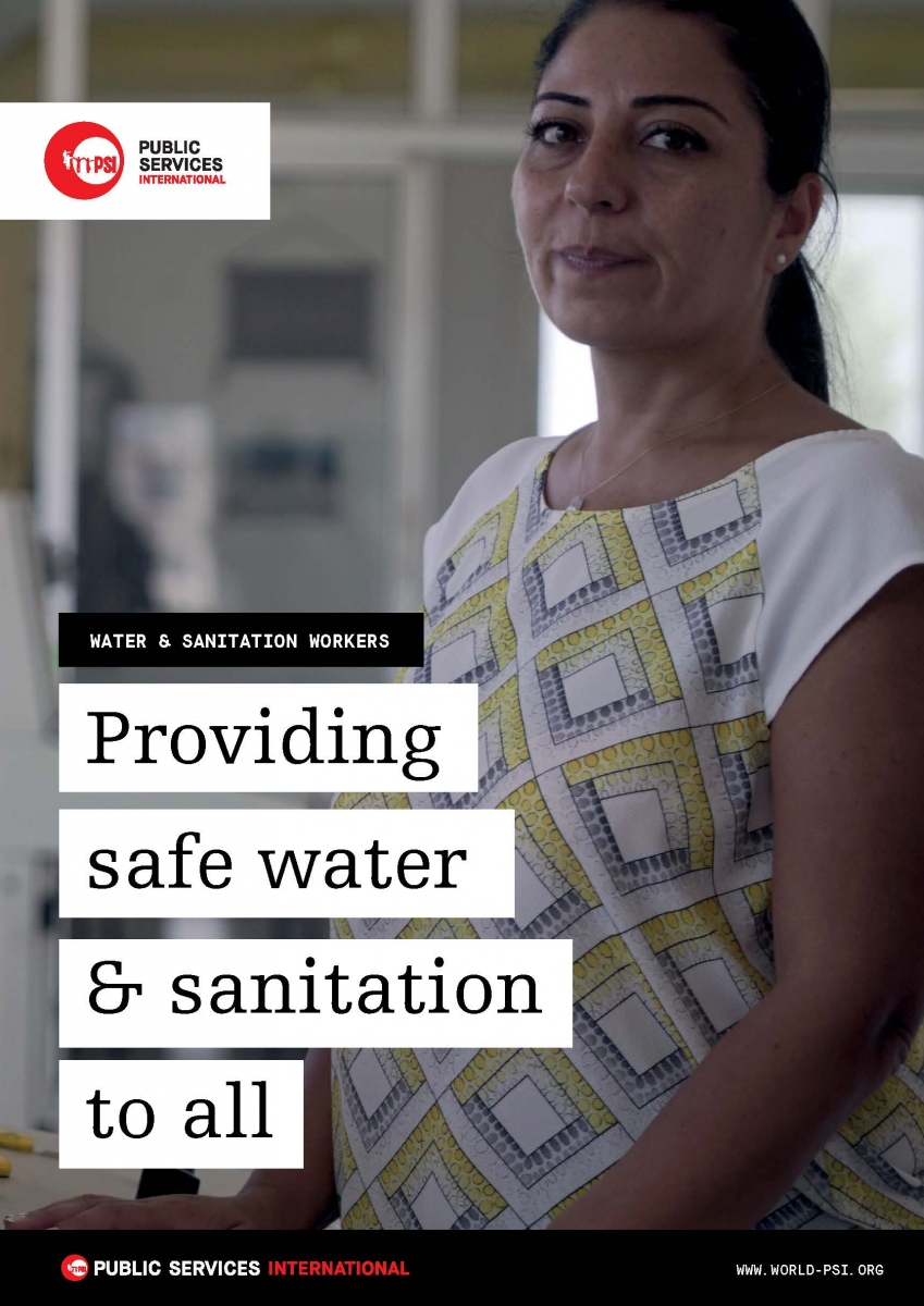 Water and sanitation worker