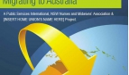 Pre-decision & Information Guide for Nurses and Midwives Migrating to Australia