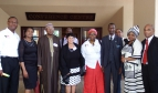 PSI leadership & Botswana affiliates