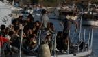 Refugiés sur un bâteau