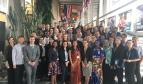 Participantes en el lanzamiento de la Plataforma Internacional sobre la Movilidad de los Trabajadores de la Salud.