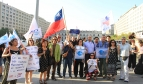 Members of different social organizations and unions protested on February 4 against the TPPA (Photo: Nayareth Quevedo)