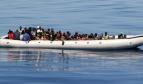 Refugiados inmigrantes en Lampedusa, Italia