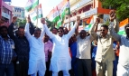 Manifestation des syndicats indiens