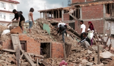Earthquake aftermath - Photo: SIM Central and South East Asia - Creative Commons